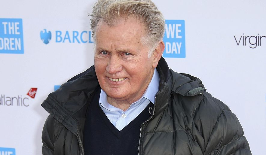 Actor Martin Sheen poses for photographers on arrival at We Day UK at Wembley Arena, in west London, in this March 5, 2015, file photo. (Photo by Joel Ryan/Invision/AP, File)