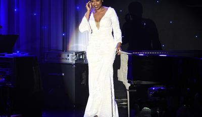 Jennifer Hudson performs onstage at the Clive Davis and The Recording Academy Pre-Grammy Gala at the Beverly Hilton Hotel on Saturday, Feb. 11, 2017, in Beverly Hills, Calif. (Photo by Chris Pizzello/Invision/AP)