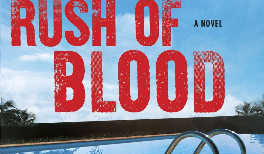 "This book cover image released by Atlantic Monthly Press shows ""Rush of Blood,"" a novel by Mark Billingham.  (Atlantic Monthly Press via AP)"