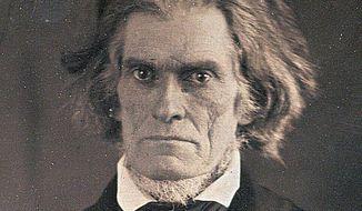 John C. Calhoun      From a photo by Matthew Brady