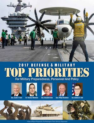 Download the Special Report prepared by The Washington Times Advocacy Department available in the February 15, 2017 edition of The Washington Times. (3.6 MB)