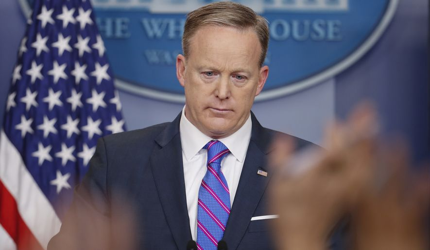 Millions of people tune in as White House spokesman Sean Spicer gives his daily press briefing.