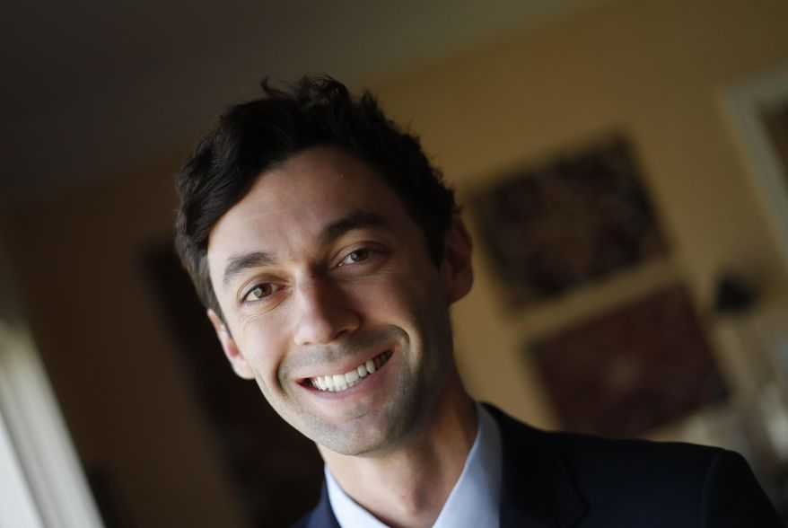 In this Feb. 10, 2017, photo, Democratic candidate for Georgia's 6th congressional district Jon Ossoff poses for a portrait in Atlanta. Former Rep. Tom Price is President Donald Trump's new health secretary, and that means there's a high-profile special election coming that will give Republicans and Democrats a test run ahead of the 2018 midterms. (AP Photo/John Bazemore)