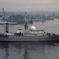 The Russian warship Viktor Leonov was spotted 30 miles off the U.S. coast, making Moscow-Washington relations edgier. (Associated press)