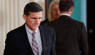 The resignation of National Security Adviser Michael Flynn has opened up a vicious fight over the integrity of the intelligence community. (Associated Press)