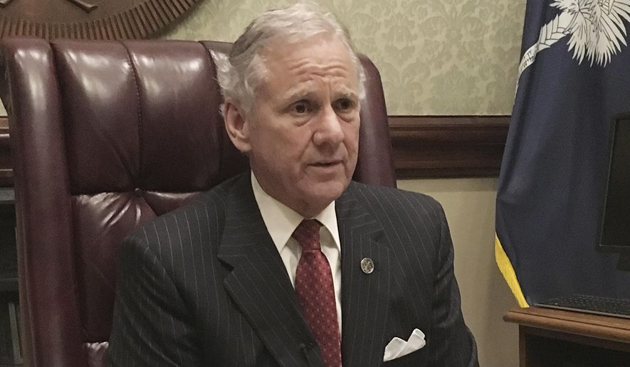 South Carolina Gov. Henry McMaster made defunding Planned Parenthood a top priority. Last week, he issued an order directing state agencies to stop funding clinics and doctors who perform abortions. (Associated Press/File)