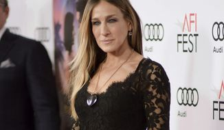 """FILE - This Nov. 10, 2016 file photo shows Sarah Jessica Parker at the world premiere of """"Rules Don't Apply"""" on opening night of the 2016 AFI Fest in Los Angeles. Parker will serve as honorary chair of the American Library Association's newly created Book Club Central. The library association said Wednesday, Feb. 15, 2017, that the club will recommend books throughout the year and will formerly launch in Chicago on June 24, during the ALA's annual conference. (Photo by Richard Shotwell/Invision/AP, File)"""