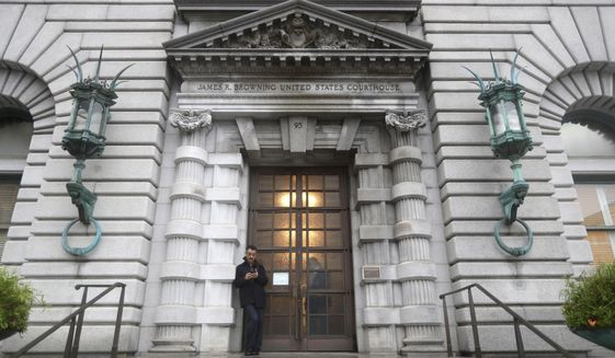 The 9th Circuit Court of Appeals in San Francisco sends the Supreme Court more work than any other circuit. (Associated Press/File)