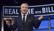 "Bill Maher, host of HBO's ""Real Time with Bill Maher,"" speaks during a broadcast of the show in Los Angeles, This April 8, 2016. (Janet Van Ham/HBO via AP) ** FILE **"