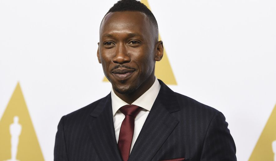 "FILE - This Feb. 6, 2017 file photo shows Mahershala Ali at the 89th Academy Awards Nominees Luncheon in Beverly Hills, Calif.  Ali is nominated for an Oscar for best supporting actor for his work in ""Moonlight.""  (Photo by Jordan Strauss/Invision/AP, File)"