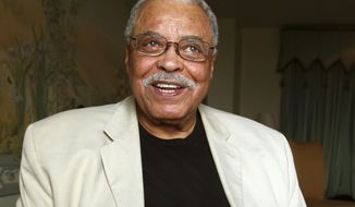 "FILE - In this Jan. 7, 2013, file photo, actor James Earl Jones poses for photos in Sydney, Australia. Jones and Donald Glover are lending their voices to Disney's upcoming remake of ""The Lion King."" Director Jon Favreau announced Friday, Feb. 17, 2017, the casting of the two men as voice actors. Glover, star and creator of television's ""Atlanta,"" will portray the adult Simba. Jones reprises the role of Simba's father, Mufasa, which he voiced in the 1994 animated film. (AP Photo/Rick Rycroft, File)"