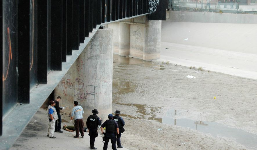 Supreme Court justices will hear oral arguments Tuesday on a case that saw a Border Patrol agent fire his gun into Mexico, striking and killing 15-year-old Sergio Adrian Hernandez Guereca in 2010. (Associated Press)