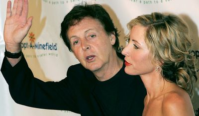 Sir Paul McCartney became a father again at the age of 61 when his then wife Heather Mills gave birth to their daughter Beatrice on October 28, 2003.
