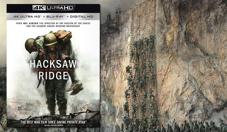 "Mel Gibsons directs ""Hacksaw Ridge,"" now available on 4K Ultra HD from Lionsgate Home Entertainment."
