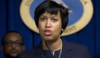 D.C. Mayor Muriel Bowser. (Associated Press) ** FILE **
