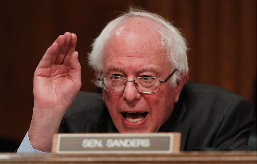 Sen. Bernard Sanders, a Vermont independent who has not ruled out another run for the presidency in 2020, remains one of the hottest draws for Democrats. He jumped at the chance to headline the Kansas Democratic Party's annual dinner this weekend. (Associated Press)