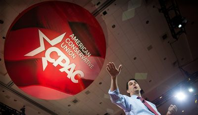 Several of President Trump's former opponents for the Republican Party nomination will speak at the opening of the Conservative Political Action Conference (CPAC) Thursday, including Sen. Ted Cruz and former Hewlett-Packard CEO Carly Fiorina. (Associated press photographs)