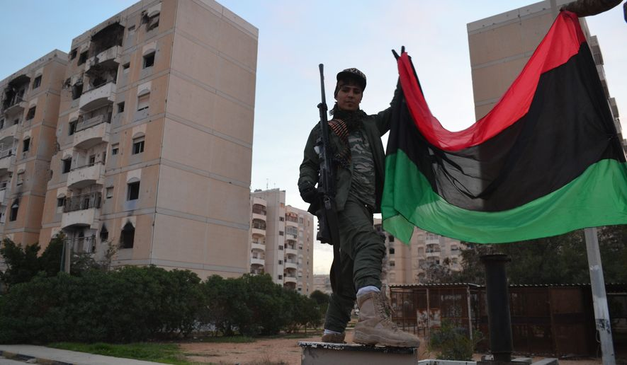 Libyan National Army forces, under the leadership of Maj. Gen. Khalifah Haftar, is pushing for a Russian military presence in eastern Libya. (The Washington Times/File)