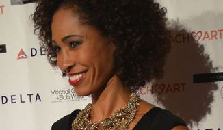 Sage Steele at the 10th Annual CoachArt Gala Fundraiser on October 16, 2014. (Wikipedia)