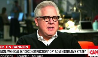 Radio host Glenn Host appears on CNN on Feb. 23, 2017, to talk about the 2017 Conservative Political Action Conference. (CNN screenshot)