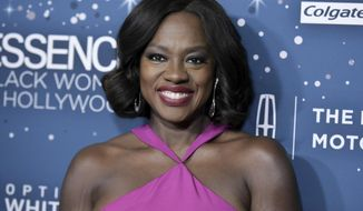 Viola Davis attends the 10th Annual Essence Black Women in Hollywood Awards ceremony on Thursday, Feb. 23, 2017, in Beverly Hills, Calif. (Photo by Richard Shotwell/Invision/AP)