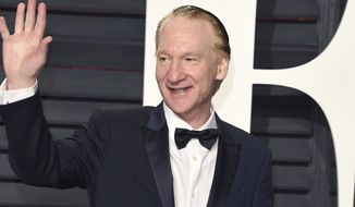 Bill Maher arrives at the Vanity Fair Oscar Party on Sunday, Feb. 26, 2017, in Beverly Hills, Calif. (Photo by Evan Agostini/Invision/AP)