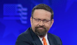 Sebastian Gorka, former deputy assistant to President Trump, was a counterterrorism adviser. (Associated Press via The Washington Free Beacon) ** FILE **