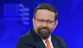 Sebastian Gorka, deputy assistant to President Trump, is a counterterrorism adviser. (Associated Press via The Washington Free Beacon)