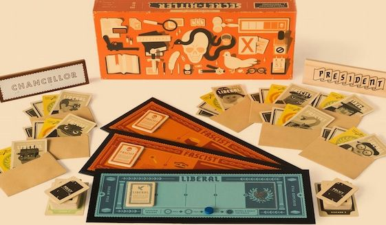 "U.S. senators were sent the ""Secret Hitler"" game by Max Temkin, co-creator ""Cards Against Humanity."" (SecretHitler.com screenshot)"