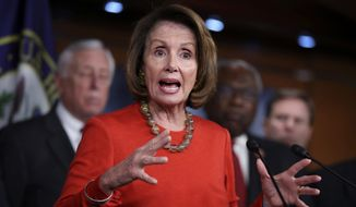 House Minority Leader Nancy Pelosi has made clear she will exit the political stage on her own schedule, but many Democrats across the nation say it's time for the next generation to take charge. (Associated Press/File)