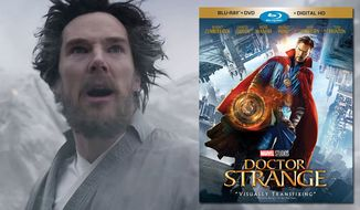 """Benedict Cumberbatch stars in """"Doctor Strange,"""" available on Blu-ray from Walt Disney Studios Home Entertainment."""