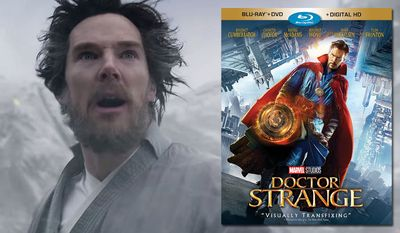 "Benedict Cumberbatch stars in ""Doctor Strange,"" available on Blu-ray from Walt Disney Studios Home Entertainment."