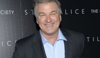 "FILE - In this Jan. 13, 2015 file photo, actor Alec Baldwin attends a special screening of his film ""Still Alice"" in New York.  Baldwin is teaming with author Kurt Andersen on the satirical book You Cant Spell America Without Me: The Really Tremendous Inside Story of My Fantastic First Year as President Donald J. Trump, Penguin Press announced Wednesday, March 1, 2017. The book is scheduled to come out Nov. 7. (Photo by Evan Agostini/Invision/AP, File)"
