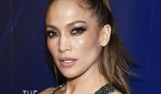 "Actress Jennifer Lopez attends the ""Shades of Blue"" season two premiere, hosted by NBC and The Cinema Society, at The Roxy Cinema on Wednesday, March 1, 2017, in New York. (Photo by Evan Agostini/Invision/AP)"