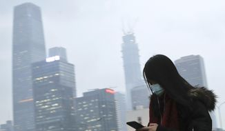 China has kept its emissions in check in recent years but now shows a massive rise in pollution. Under the Paris pact, China agreed to cap its emissions by 2030, meaning it is still free to increase pollution. (Associated Press/File)