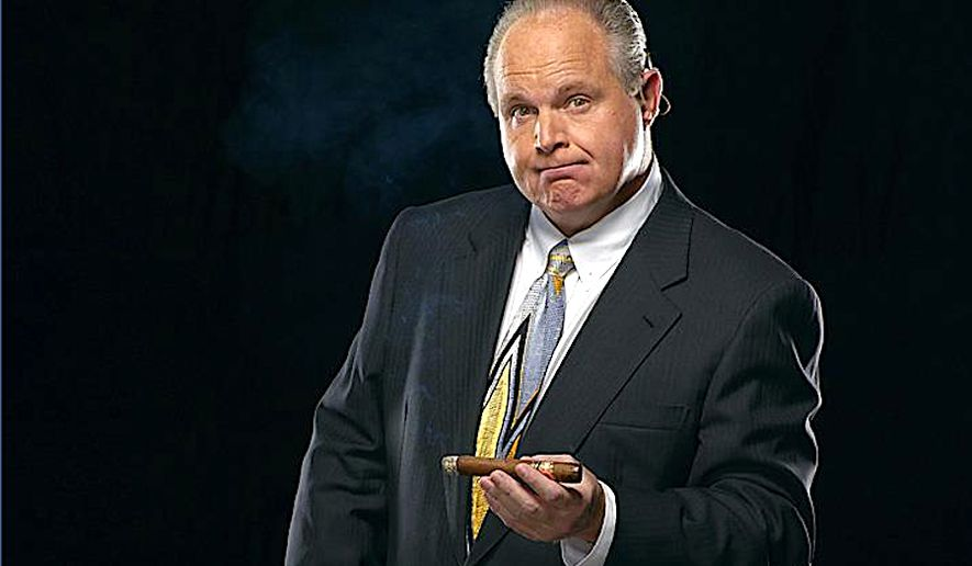 "Talk radio kingpin Rush Limbaugh regularly dissects media trickery for his listeners, from ""fake news"" to Trump bashing. (Image courtesy of Rush Limbaugh)"