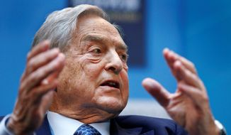 New York billionaire George Soros spent $7 million on Democrats in election races in 10 states to try to influence criminal justice reform from the inside. In two such contests, outspent Republicans dropped out before the election. (Associated Press)
