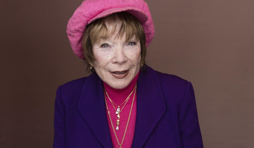 "FILE - This Jan. 23, 2017 file photo shows actress Shirley MacLaine posing for a portrait to promote the film, ""The Last Word"", during the Sundance Film Festival in Park City, Utah. (Photo by Taylor Jewell/Invision/AP, File)"