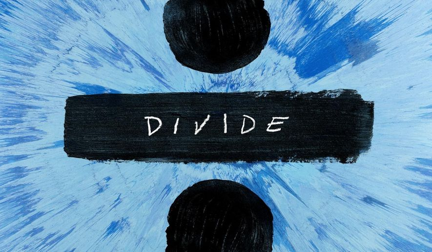 "This cover image released by Atlantic Records shows, ""Divide,"" the latest release by Ed Sheeran. (Atlantic Records via AP)"