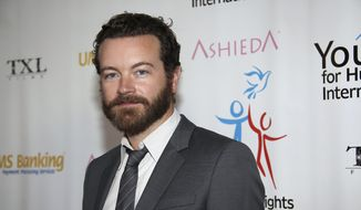 In this March 24, 2014, file photo, actor Danny Masterson arrives at Youth for Human Rights International Celebrity Benefit at Beso Hollywood in Los Angeles. Los Angeles police are investigating after three women reported being sexually assaulted by Masterson in the early 2000s, but the actor denies the allegations, which he says are motivated by the producer of an anti-Scientology television series. An LAPD spokesman confirmed the investigation Friday, March 3, 2017, but declined to provide additional details. (Photo by Annie I. Bang/Invision/AP, File)