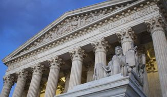 In this Feb. 13, 2016 file photo, the Supreme Court building in Washington. (AP Photo/Jon Elswick)