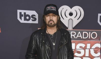 Billy Ray Cyrus arrives at the iHeartRadio Music Awards at the Forum on Sunday, March 5, 2017, in Inglewood, Calif. (Photo by Jordan Strauss/Invision/AP) ** FILE **