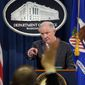 Attorney General Jeff Sessions was asked by Democrats to appear before a Senate committee, but he plans to answer their follow-up questions in written testimony. (Associated Press)