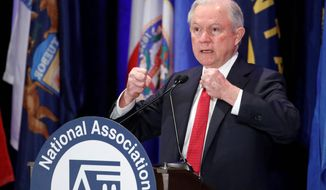 Attorney General Jeff Sessions (Associated Press)