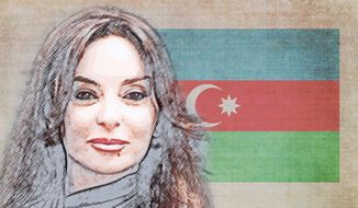The Kind Lady of Azerbaijan Illustration by Greg Groesch/The Washington Times