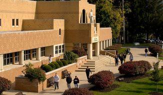 Alvernia University's Franco Library (Wikipedia)