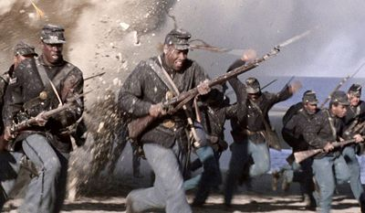 Glory is a 1989 war film directed by Edward Zwick and starring Matthew Broderick, Denzel Washington, Cary Elwes and Morgan Freeman. The film is about one of the first military units of the Union Army during the American Civil War to be made up entirely of African-American men (except for its officers), as told from the point of view of Colonel Shaw, its white commanding officer. The regiment is especially known for its heroic actions at Fort Wagner. The film was nominated for five Academy Awards and won three, including Denzel Washington for Best Supporting Actor for his portrayal of Private Trip.