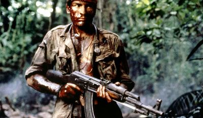 """Platoon is a 1986 war film written and directed by Oliver Stone, starring Tom Berenger, Willem Dafoe, and Charlie Sheen. Stone wrote the screenplay based upon his experiences as a U.S. infantryman in Vietnam. Platoon was the first Hollywood film to be written and directed by a veteran of the Vietnam War. Platoon won the Academy Award for Best Picture of 1986; it also won Best Director for Oliver Stone, as well as Best Sound Mixing and Best Film Editing. In 1998, the American Film Institute placed Platoon at #83 in their """"AFI's 100 Years... 100 Movies"""" poll."""