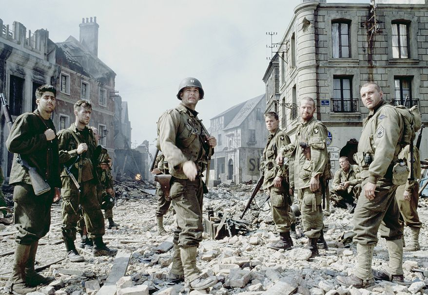 """Saving Private Ryan is a 1998 war drama film set during the Invasion of Normandy in World War II. Directed by Steven Spielberg and written by Robert Rodat. The film follows United States Army Rangers Captain John H. Miller (Tom Hanks) and a squad (Tom Sizemore, Edward Burns, Barry Pepper, Giovanni Ribisi, Vin Diesel, Adam Goldberg, and Jeremy Davies) as they search for a paratrooper, Private First Class James Francis Ryan (Matt Damon), who is the last-surviving brother of four servicemen. The film received positive acclaim, winning several awards for film, cast, and crew, as well as earning significant returns at the box office. The film grossed US$481.8 million worldwide, making it the second-highest-grossing film of the year. The film was nominated for 11 Academy Awards; Spielberg's direction won his second Academy Award for Best Director, with four more awards going to the film. In 2014, the film was selected for preservation in the National Film Registry by the Library of Congress, being deemed """"culturally, historically, or aesthetically significant."""""""
