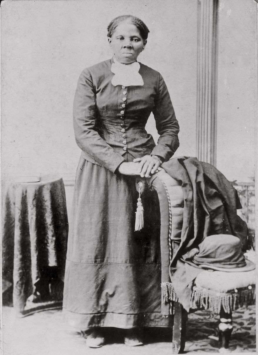 FILE - This photograph released by the Library of Congress shows Harriet Tubman in a photograph dating from around 1860-75. (Library of Congress via AP, File)
